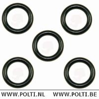 M0S00802 - Silikon Gummi O-Ring - Rohr - Pistolengriff