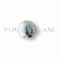 (9)  SLDB0205 - Veiligheidsdop licht grijs