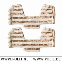 Unico Parkett / Holzmikrofasertuch zur Multi Bodenbürste