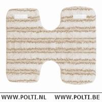 Polti Lecoaspira tissu en microfibres sols glissants set