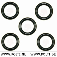M0S00802 - Siliconen rubber O-ring - buis - pistoolgreep (5)