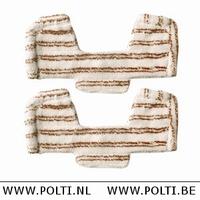 Unico Parket/Hout Microvezel doek voor Multi Vloerborstel