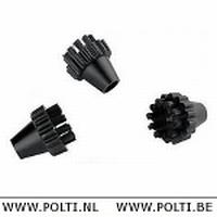 Unico 120° borsteltjes zwart (3)